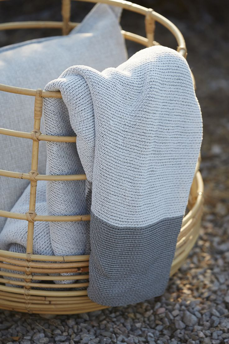 Sweep #rattan basket. Perfect for storage or as a nice decoration...   #caneline