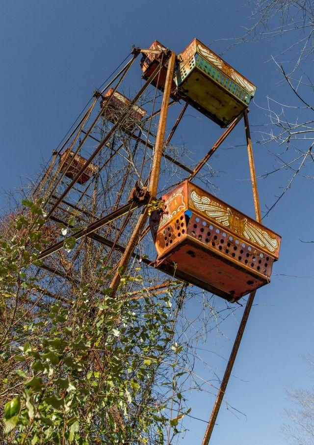 Les parcs d'attractions abandonnés à travers le monde