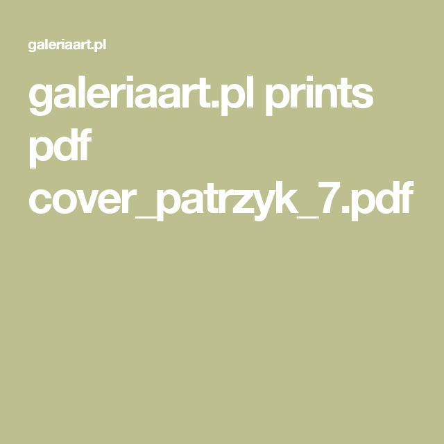 galeriaart.pl prints pdf cover_patrzyk_7.pdf