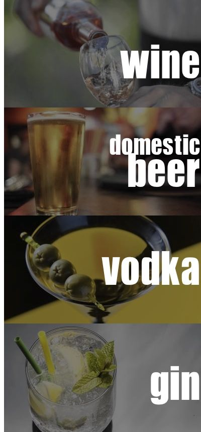Yeast-Free Alcohol Drinks! What to order at the bar to avoid bacteria...