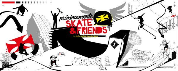 SKATE & FRIENDS on Behance