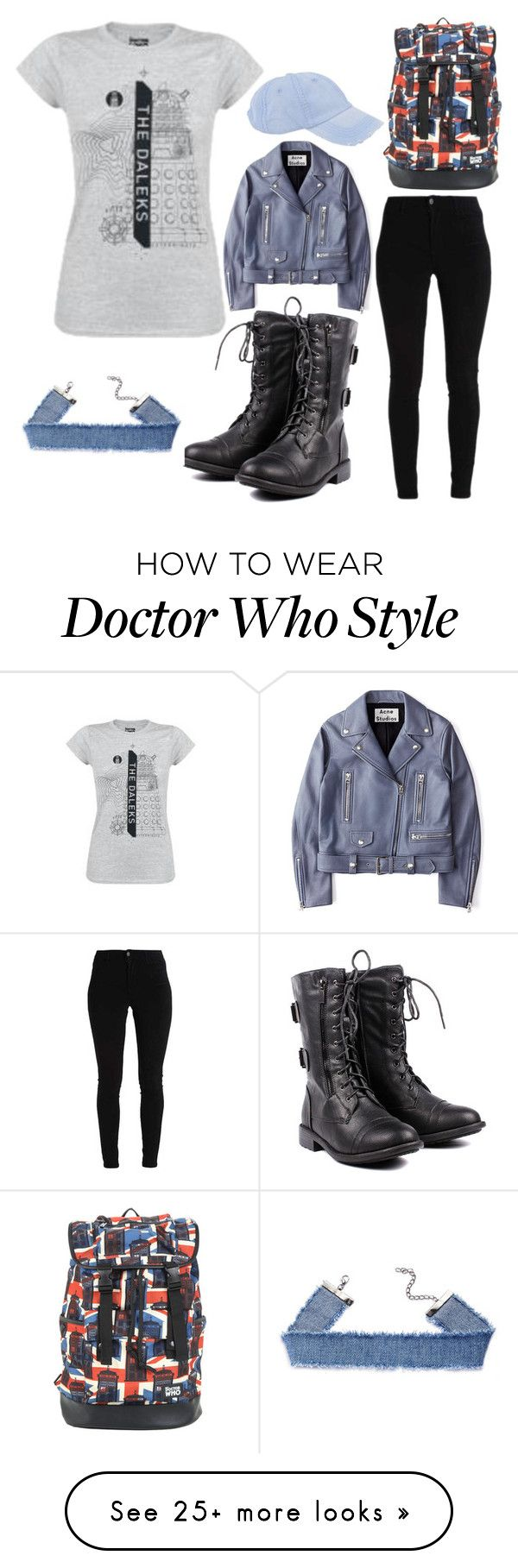 """Simple Outfit #2"" by elizabethshakespeare on Polyvore featuring Acne Studios, Armitage Avenue and Hot Topic"