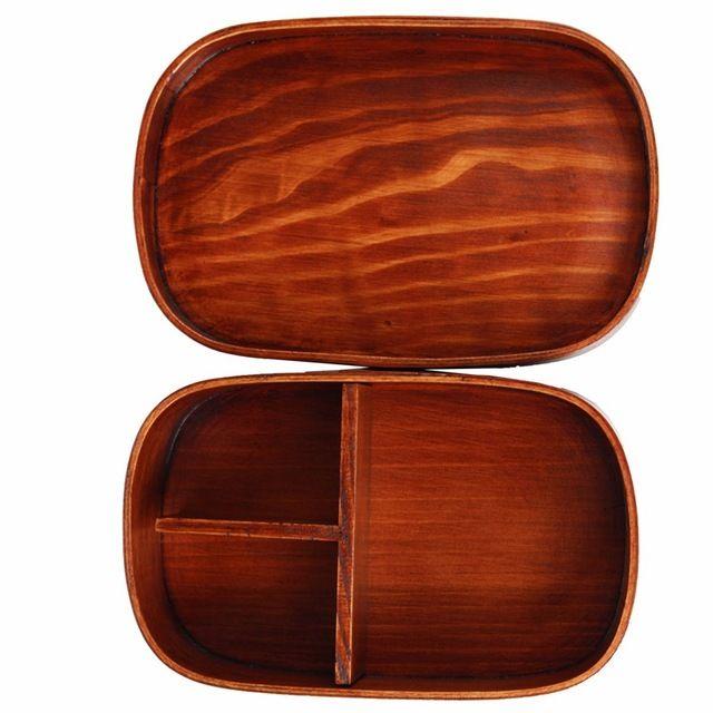 Migliore promozione in stile giapponese bento box lunch box handmade scatola di sushi da tavola ciotola di legno