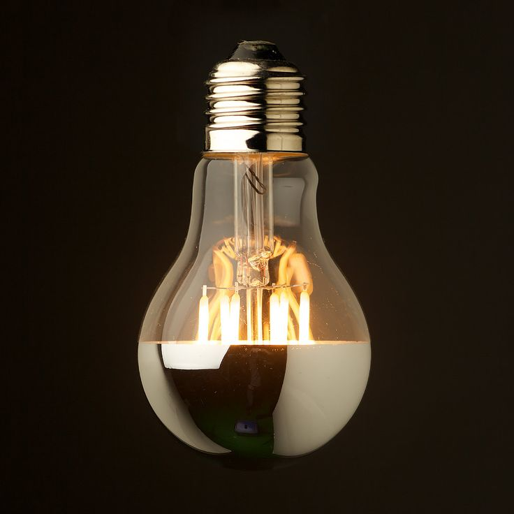 5 Watt Dimmable Crown Silver Filament LED E27 GLS. The classic shape bulb that provides high efficiency solution for E27 and specialty light fittings.