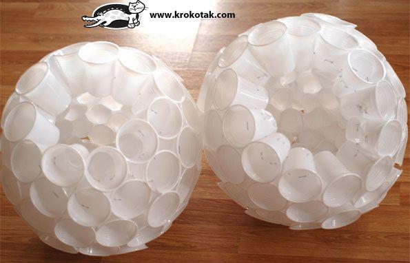 Plastic Cup SNOWMAN | krokotak