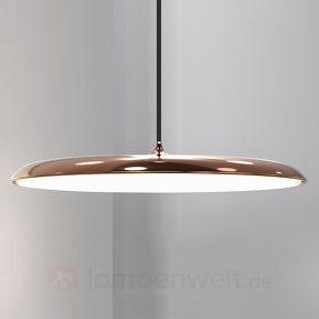 Artist 40 - flache LED-Hängeleuchte, kupfer sicher & bequem online bestellen bei Lampenwelt.de.
