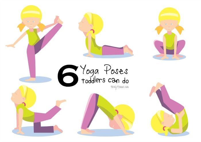6 Yoga Poses Toddlers Can Do (with a free printable) - Nerdy Mamma