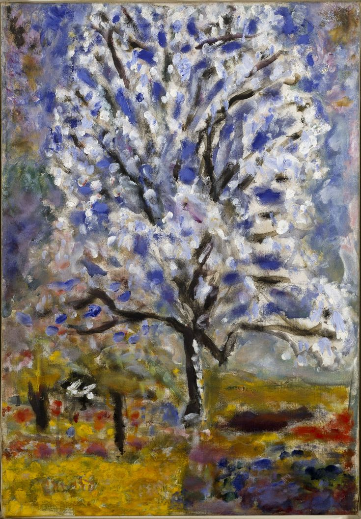 Pierre Bonnard | L'Amandier en fleurs (The Almond Tree in Blossom) (1946-1947)
