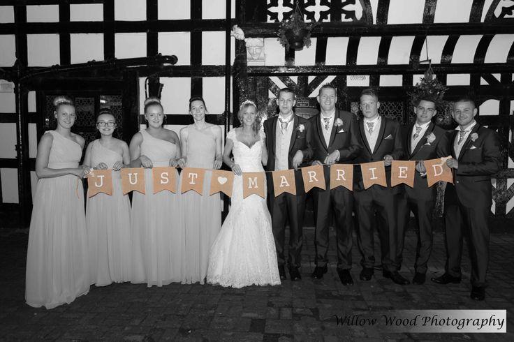 Wild Boar Hotel Tarporley romantic wedding picture