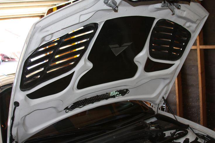 Vorsteiner GTR Hood Underside  E46 M3 Build Project Inspiration