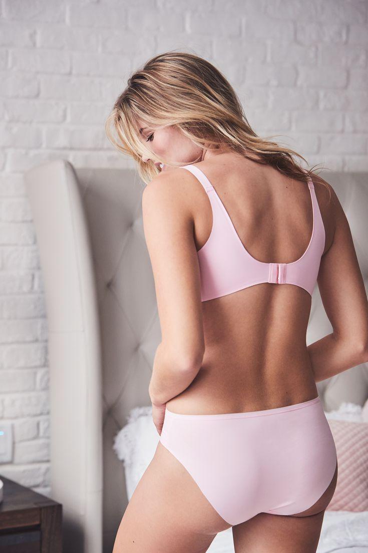 La Vie en Rose   Sleekback Bikini Panty + Lightly Lined Sleeckback Bra