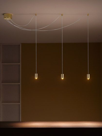 Vesoi | Mario de Rosa. suspended pin downlight