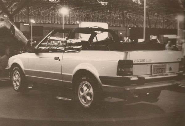 1985 Ford Escort XR-3 Cabriolet - Brasil