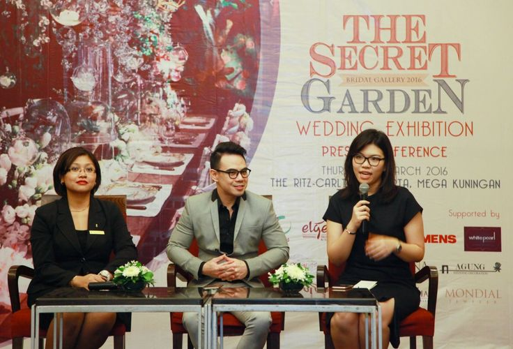 "The Ritz-Carlton Jakarta Gelar Pameran ""The Secret Garden Wedding Atelier""."