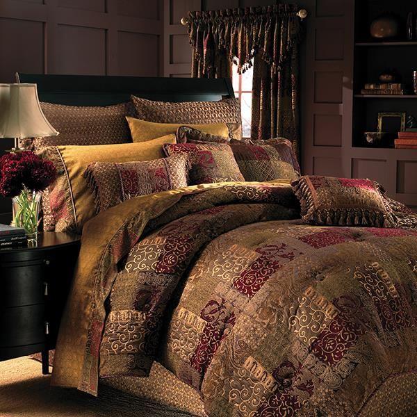 Galleria Red Comforter Set | Croscill