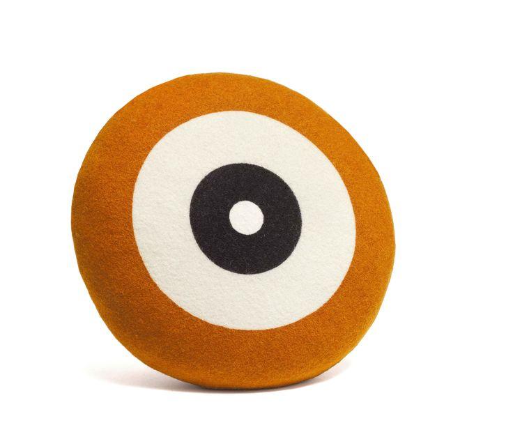 Wendt Design pude – Dot i safran farve - Tinga Tango Designbutik