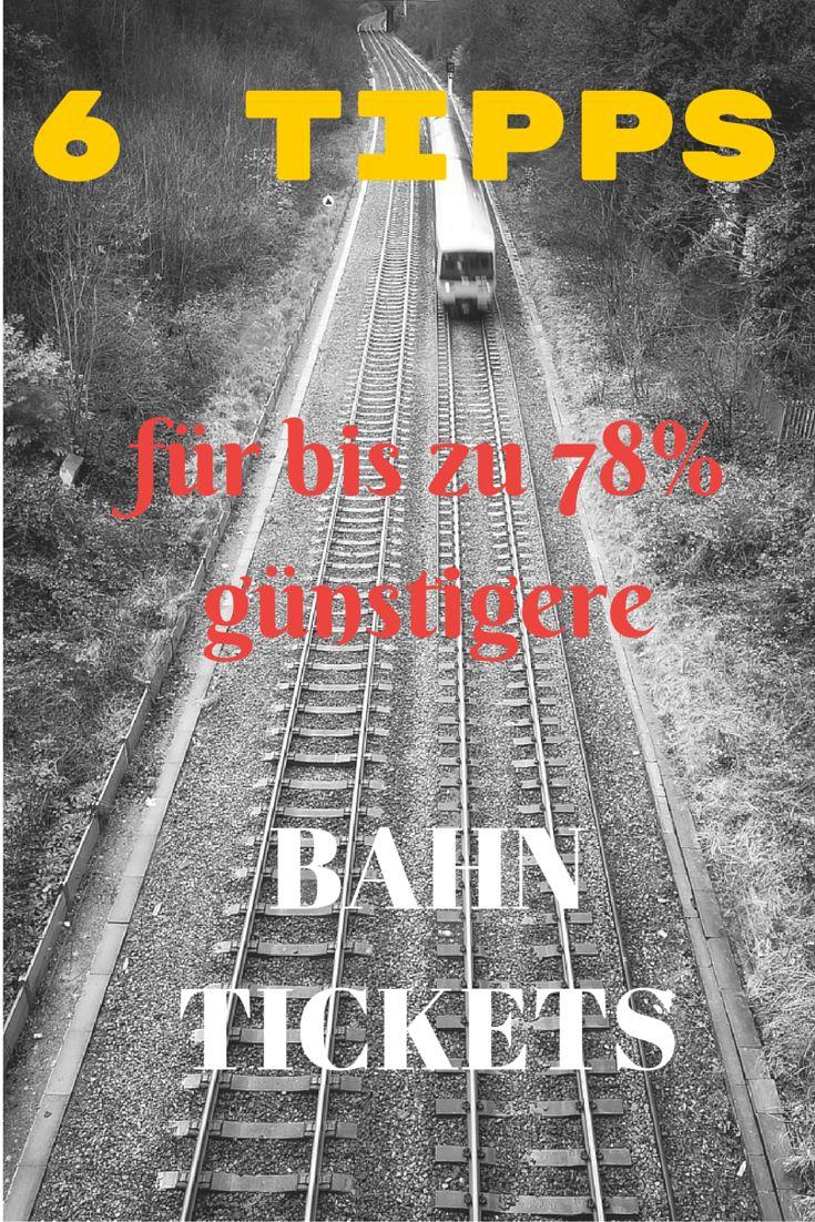 Deutsche Bahn Tickets sind bereits seit längerem auch auf anderen Webseiten buchbar. In manchen Fällen beträgt der Preisunterschied für ein Ticket bis zu 78%. Wann ihr wo wie am günstigsten bucht und was es dabei zu beachten gibt, habe ich euch in dieser Übersicht zusammengetragen >>> http://www.reiseuhu.de/?p=6979  #deutschebahn #bahn #dbtickets #spartipps #bahnreisen #travel #reise #travelhack