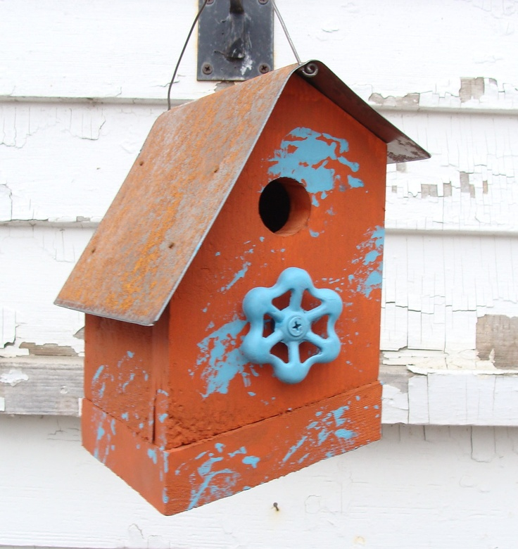 605 Best Bird Houses Images On Pinterest