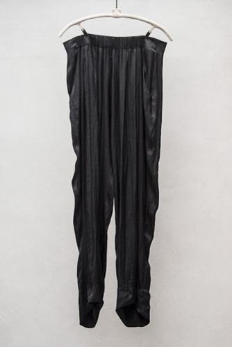 RAQUEL ALLEGRA LIQUID SATIN PANT - $495