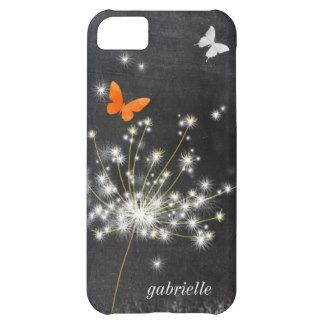 Trendy Chalkboard   Dandelion iPhone 5C Case-Mate