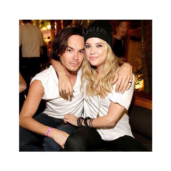 Ashley Benson Dating Pretty Little Liars Costar Tyler Blackburn US... ❤ liked on Polyvore featuring ashley benson