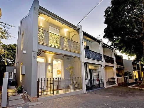 Mind Blowing 19th Century Terrace House in Sydney