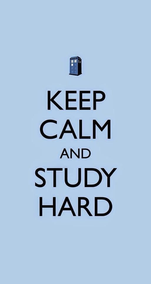 Study hard? With a TARDIS at the top?  Study and Dr Who do not mix!