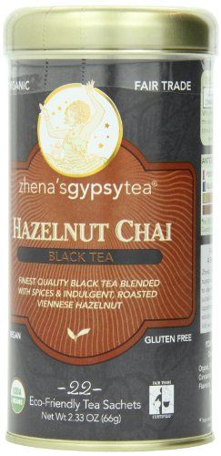Zhena's Gypsy Chai Black Tea, Hazelnut, 1.54 Oz, 22 Count Zhena's Gypsy Tea ($6)