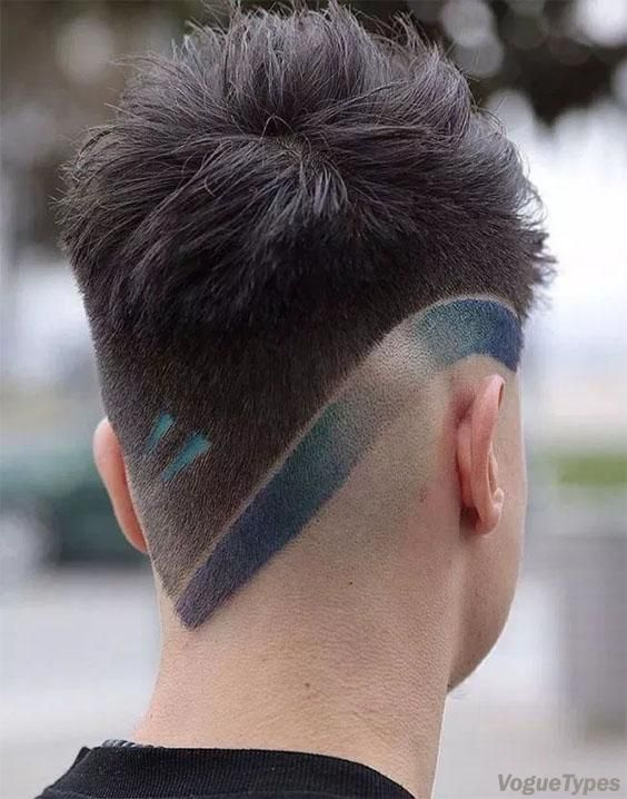 Attractive Styles Of V Shape Haircuts For Young Boys In 2018 Men