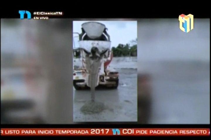 Encuentran  El Cadáver De Un Hombre Dentro De Un Camión Mezclador De Cemento
