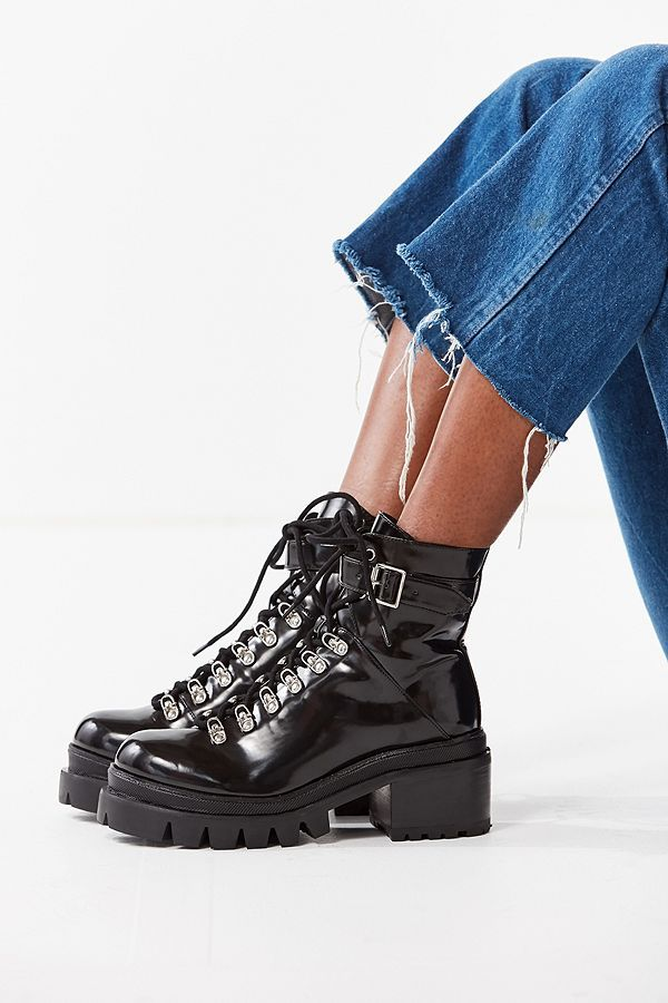 ba5ab69433a8 Jeffrey Campbell Czech Lace-Up Boot | nice things | Fashion, Urban ...