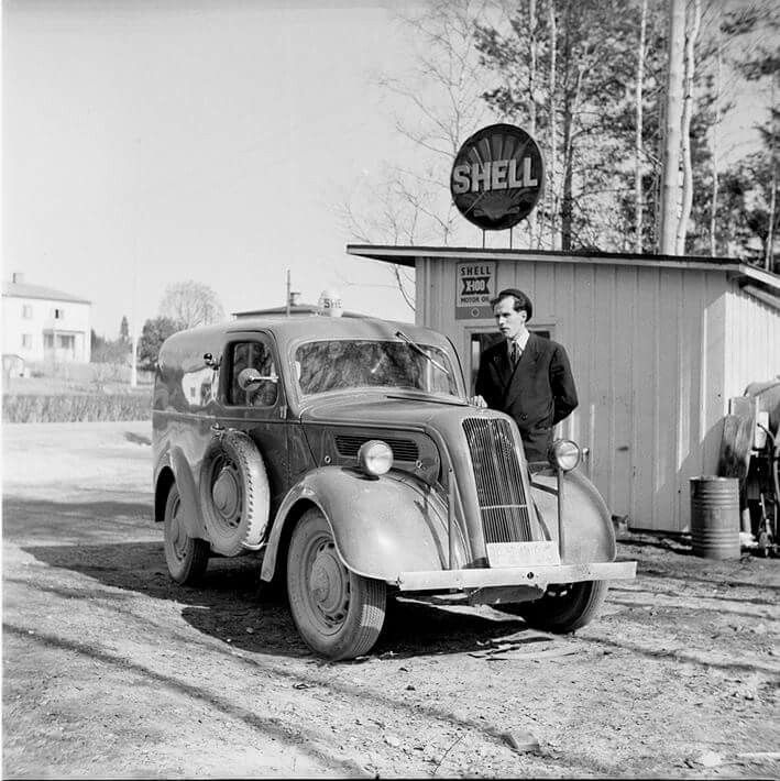 Shell gas station, Sweden