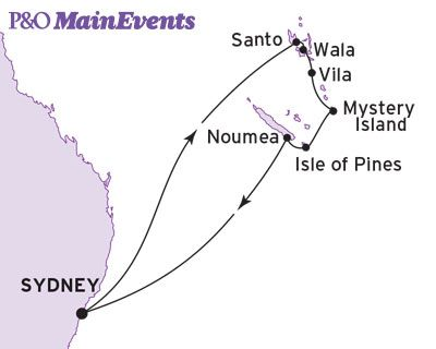 New Year Cruise Maps