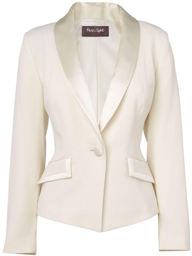 Tuxedo jackets for women