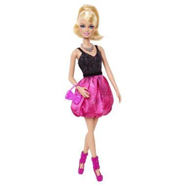 Barbie® Fashionistas® Кукла - Розовый пузырь юбка - Shop.Mattel.com