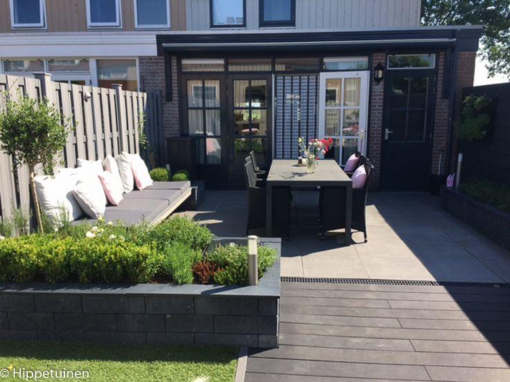 17 beste afbeeldingen over voortuin op pinterest tuinen for Tuinontwerpen achtertuin