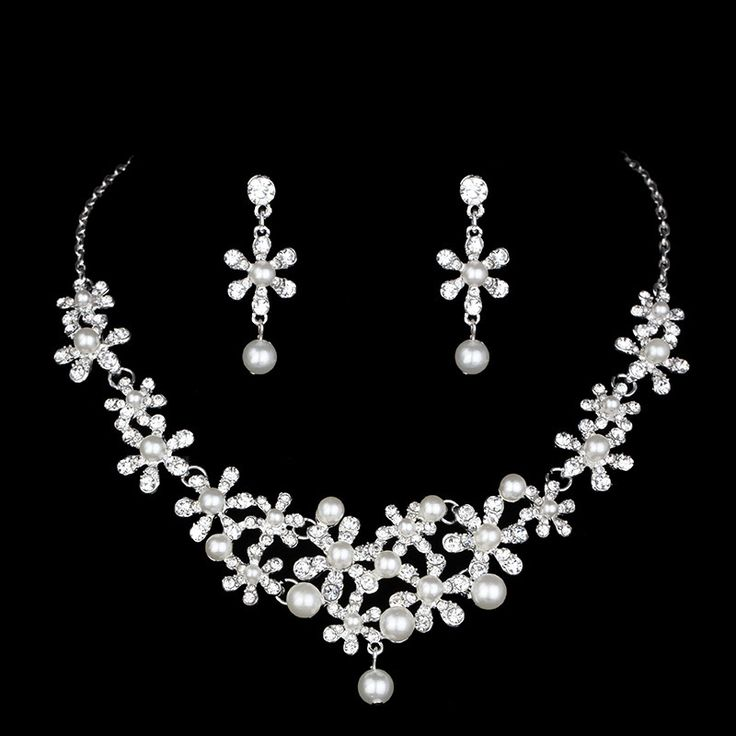 Cheap Earrings Set For Women Buy Quality Necklace Earring Directly From China Wedding Sets Suppliers Trendy Pearls