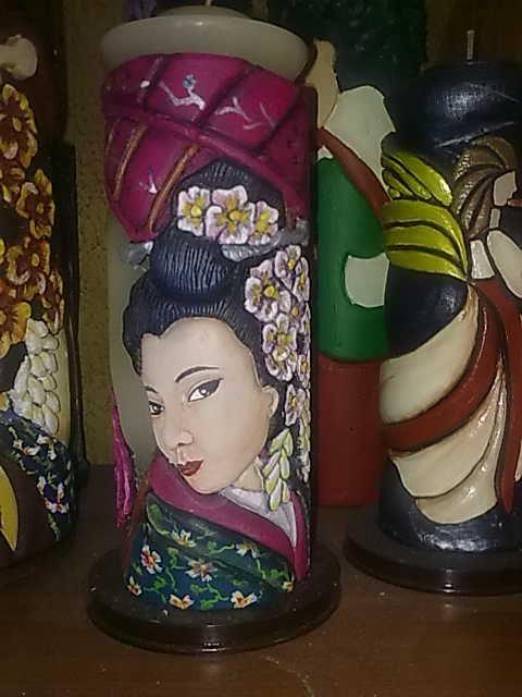 Japonesa (vela Tallada)