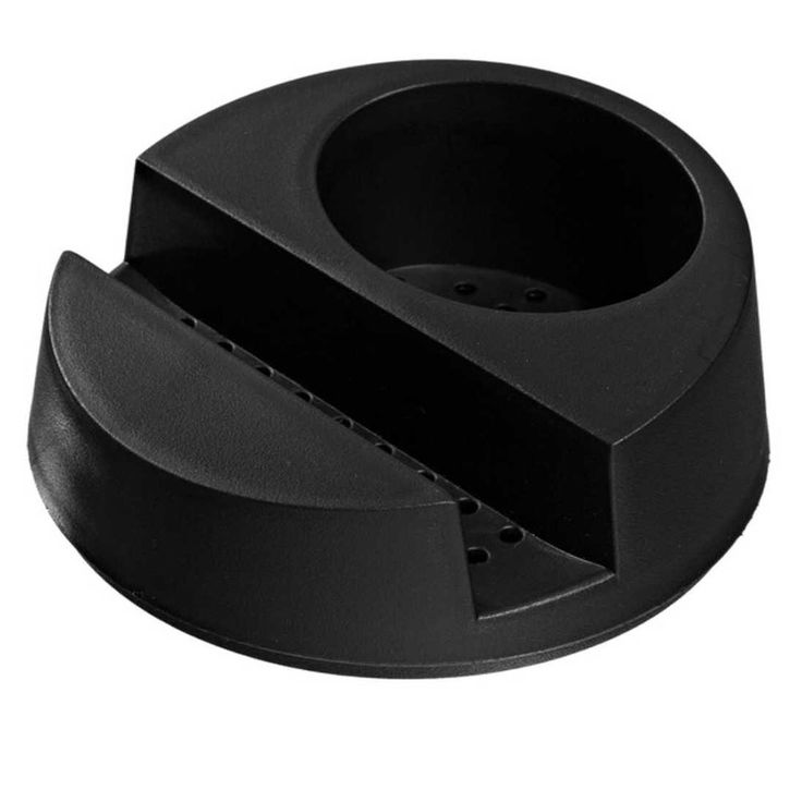 Porta detergente e esponja Glub Ou preto 14,5 x 6,5 cm - Utensílios Domésticos / Utilplast - Utilplast