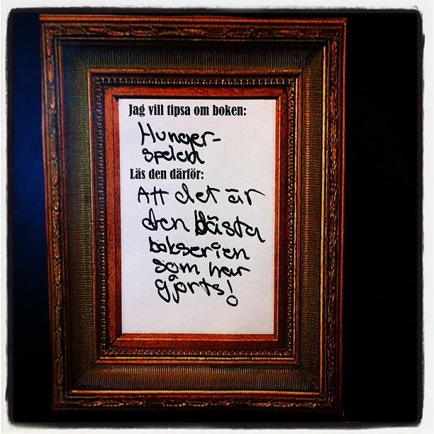 Hungerspelen #läsardagen