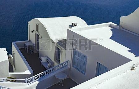 Architecture of Santorini Greece