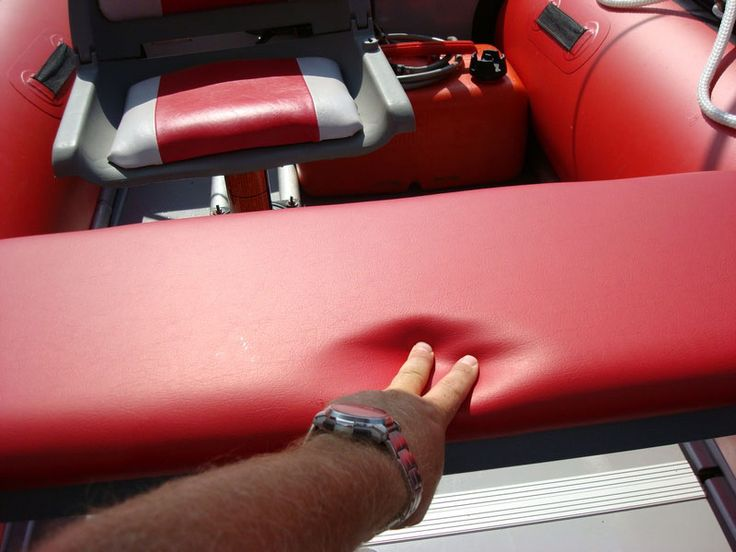 FREE Instructions for DIY Seat cushions for Saturn Inflatable Boats.