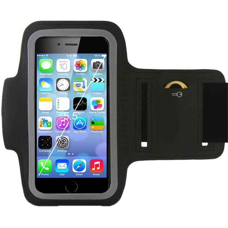 Sports Armband Gym Running Jog Case for phone jogging cell clamp Mobile Phone Arm band Holder sleeve for iphone 6 plus
