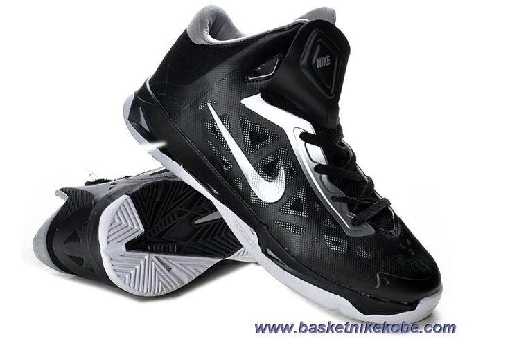 Nouveau Nike Zoom Hyperchaos Noir Blanc MetTousic Argent Hommes 535272