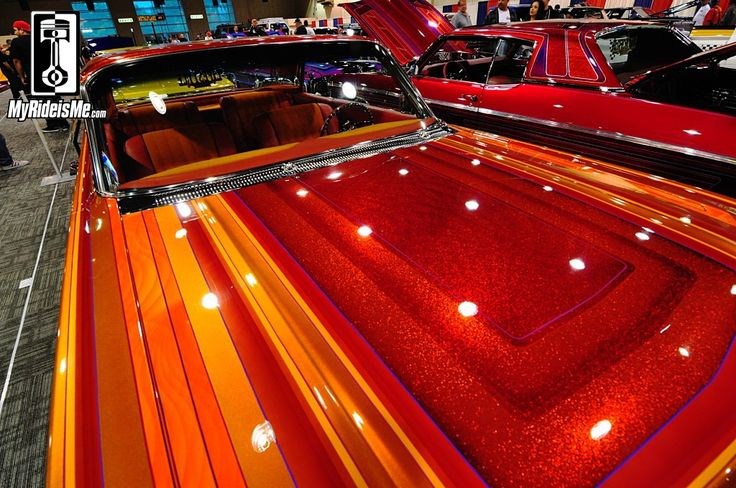 Simi Valley Chevy >> custom paint jobs, metal flake paint, custom lowriders, Grand National Roadster Show   Chicano ...