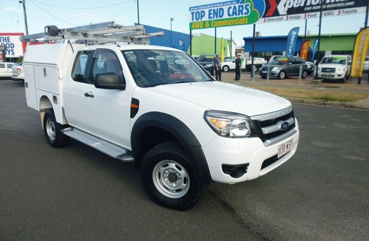 2010 FORD RANGER XL Hi-Rider PK Turbo Extended Cab Chassis Utility