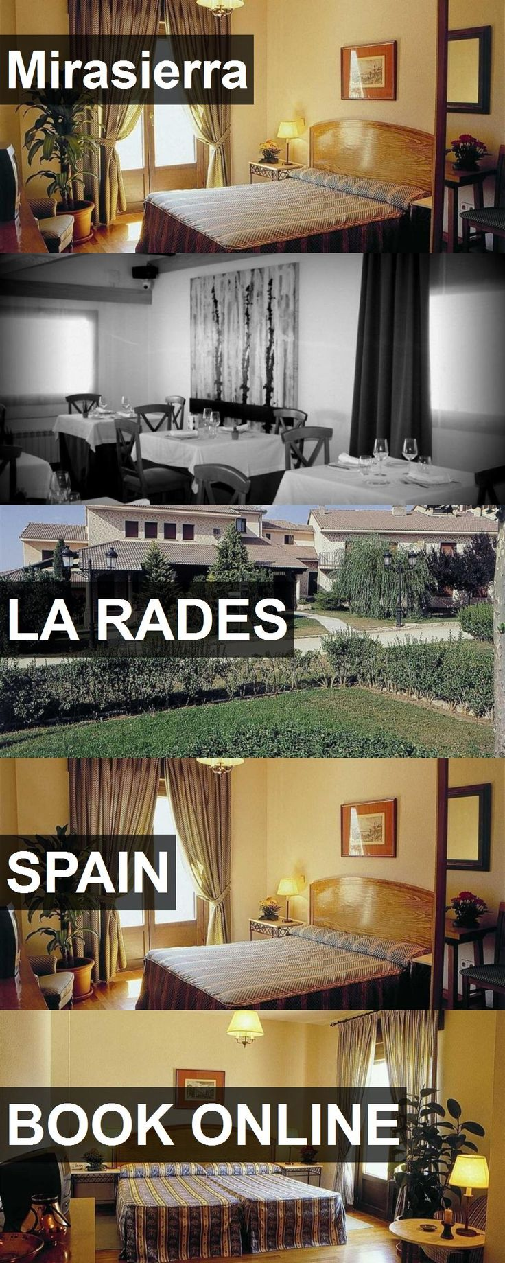 Hotel Mirasierra in La Rades, Spain. For more information, photos, reviews and best prices please follow the link. #Spain #LaRades #travel #vacation #hotel