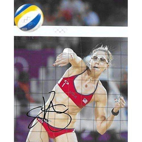 Kerri Walsh Jennings, USA Olympic, Volleyball Player, Signed, Autographed, 8x10 Photo, a COA with the Proof Photo of Kerri Signing Will Be Included/