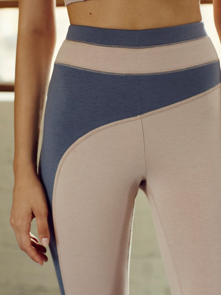 Artemis Legging | Crafted from a luxe cotton-blend jersey, these so-soft…