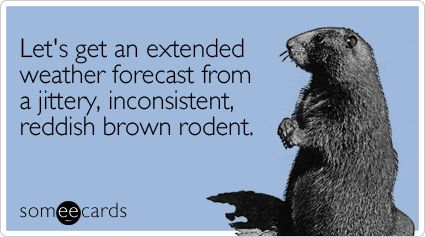 Groundhog Day humor